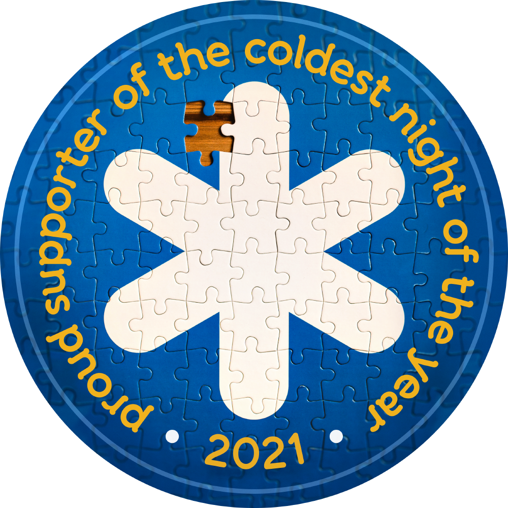 Proud Supporter of the coldest night of the year